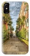 Alleyway In Chaleston IPhone Case