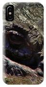 Alligator Eye IPhone Case