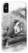 Alligator Hunt, 1888 IPhone Case