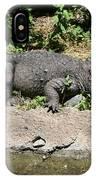 Alligator Surprise IPhone Case
