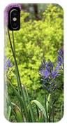 Allium And Camassia IPhone Case