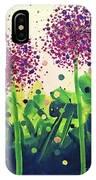 Allium Explosion IPhone Case