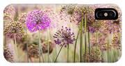 Allium Flowers IPhone Case