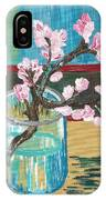 Almond Blossoms In A Glass IPhone Case