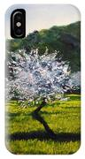 Almond Tree In Blossom IPhone Case
