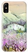 Almond Trees In Altea La Vieja IPhone Case