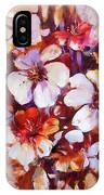 Almonds Blossom  5 IPhone Case
