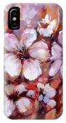 Almonds Blossom  8 IPhone Case