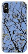 Almost Bare With Birds II IPhone Case
