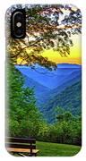 Almost Heaven - West Virginia 3 - Paint IPhone Case