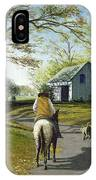 Almost Home 16x20 IPhone Case