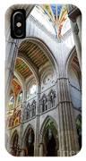 Almudena Cathedral Interior In Madrid IPhone X Case