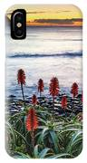 Aloe Vera In Flower At The Seaside IPhone Case