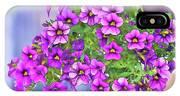 Aloha Purple Sky Calibrachoa Abstract I IPhone Case