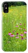 Along A Prairie Path IPhone Case