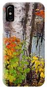 Along The Breezeway In Autumn 2014 IPhone Case