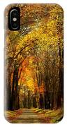 Along The Riverbank IPhone X Case