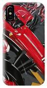 Alonso Ferrari 3 IPhone Case