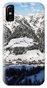 Alpbach Winter Landscape IPhone Case