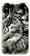 Alpha Male - The Wolf IPhone Case