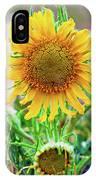 Alpine Sunflower In Summer IPhone Case