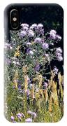 Alpine Thistles And Grasses IPhone Case