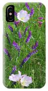 Alpine Vetch And Primroses IPhone Case
