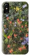 Alpine Wildflowers Hurricane Ridge 4031 IPhone Case