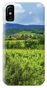 Alsace Landscape, France IPhone Case