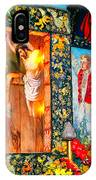 Altar Painted By Famous John Walach IPhone Case