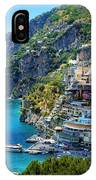 Amalfi Coast, Positano, Italy IPhone X Case