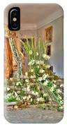 Amaryllis Exhibition In Beloeil Castle, Belgium IPhone Case