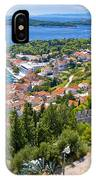 Amazing Historic Town Of Hvar Aerial View IPhone Case