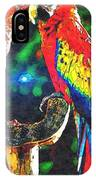 Amazon Parrotts IPhone Case