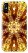 Amber Sun. Digital Art 3 IPhone Case