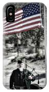 American Bagpiper IPhone Case