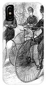 American Bicyclists, 1879 IPhone Case