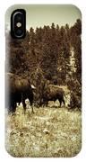 American Bison Vintage 2 IPhone Case