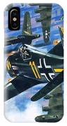American Bombing Raid Over Europe In July 1943 IPhone Case