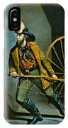 American Fireman 1858 IPhone Case