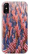 American Flags In Tampa IPhone Case