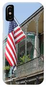 American French Quarter IPhone Case
