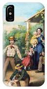 American Independence 1859 IPhone Case