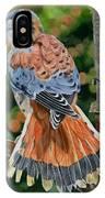 American Kestrel In My Garden IPhone Case
