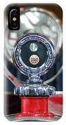 American Lafrance Vintage Fire Truck Gas Cap IPhone Case