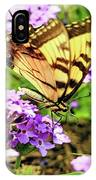 Yellow Eastern Tiger Swallowtail Series IPhone Case
