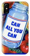 American Propaganda Poster Promoting Canned Food IPhone Case