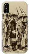 American Soldiers At Fort Mifflin IPhone Case