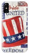 Americana Patriotic IPhone Case