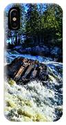 Amincon River Rootbeer Falls IPhone Case